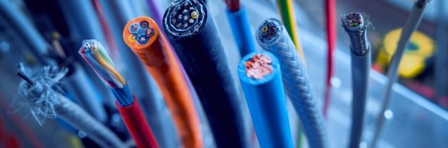 wires cables purge polymers